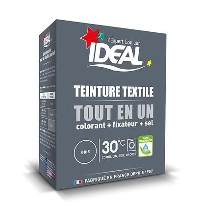 IDEAL MAXI «Все в Одном» для окрашивания одежды и тканей, серая, 350 г.