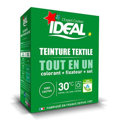 IDEAL MINI «Все в Одном» для окрашивания одежды и тканей, зеленый кактус, 230 г.
