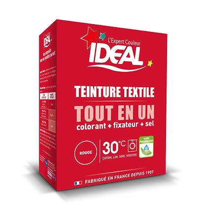 IDEAL MAXI «Все в Одном» для окрашивания одежды и тканей, красная, 350 г.