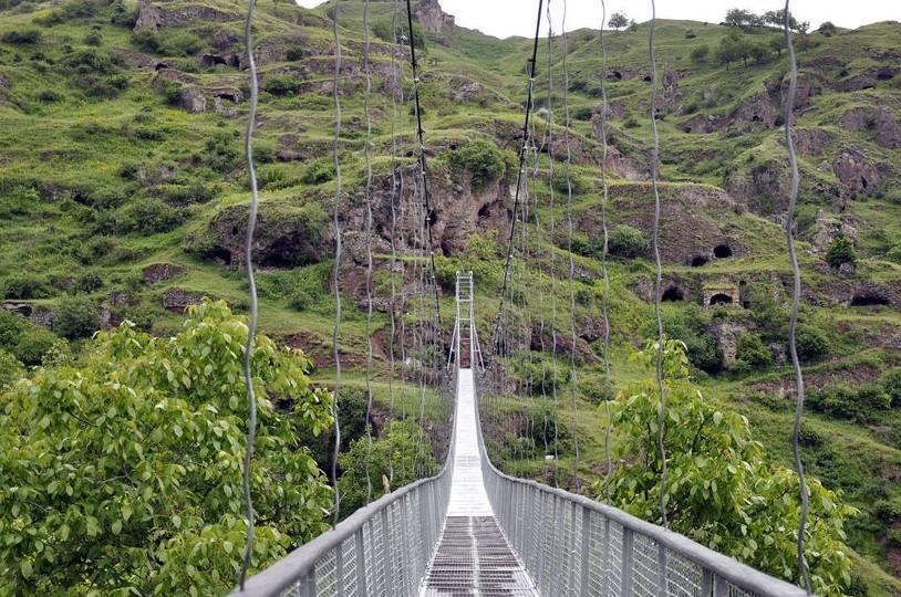 Подвесной мост к Хндзореску