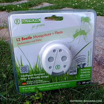 Уред с ултразвук против комари и бълхи
