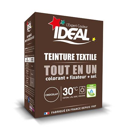 IDEAL MINI «Все в Одном» для окрашивания одежды и тканей, коричневая, 230 г.