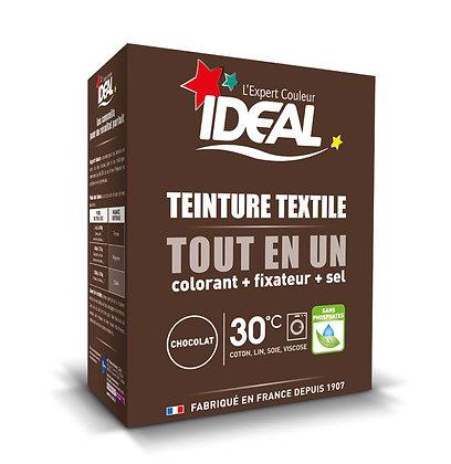 IDEAL MAXI «Все в Одном» для окрашивания одежды и тканей, коричневая, 350 г.
