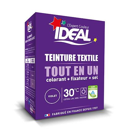 IDEAL MINI «Все в Одном» для окрашивания одежды и тканей, фиолетовая, 230 г.