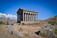 Храм Солнца в Гарни (Армения)