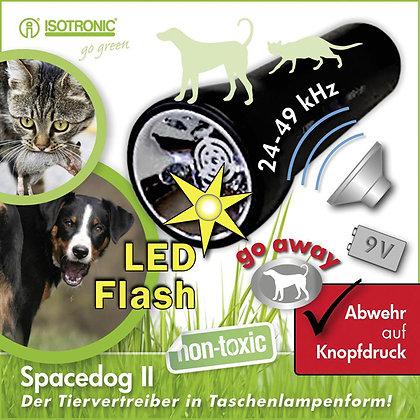 Мобилен кучегон с ултразвук против кучета и котки