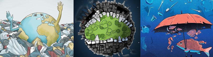 Environmental Creative Graphic Design