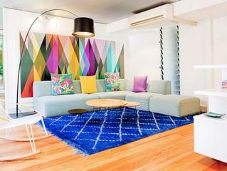 Как да се комбинират цветовете в интериора на хола?