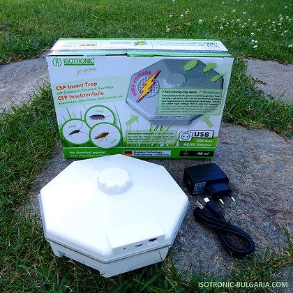 Електронен уред за хлебарки, люспеници и мокрици