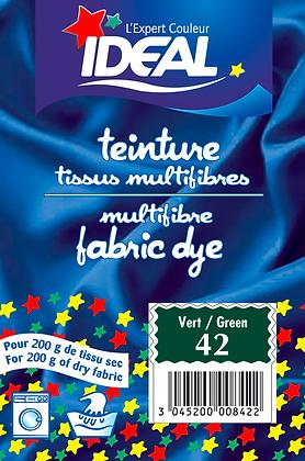 Краска для окрашивания полиамида, текстиля, шерсти и шелка, зеленая