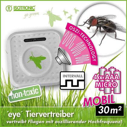 """Мобилен уред """"Око"""" за защита от мухи"""
