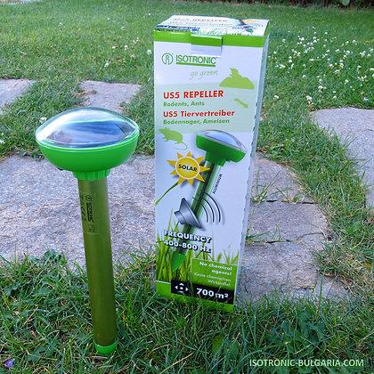 Уред против къртици, сляпо куче, мишки и мравки