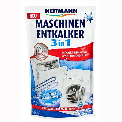 HEITMANN Трифазен прах за почистване на варовик от перални и съдомиялни машини