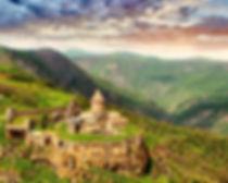 Монастырский комплекс Татев в Армении