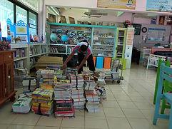 ส่งมอบผลงาน กิจกรรมบริจาคหนังสือ และสื่อการเรียนรู้สำหรับเด็ก
