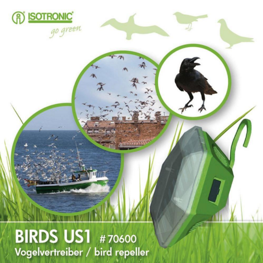 Isotronic BIRDS US1 Ултразвуков птицегон