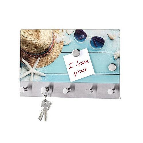 Wenko Дизайнерска закачалка за дрехи от стъкло