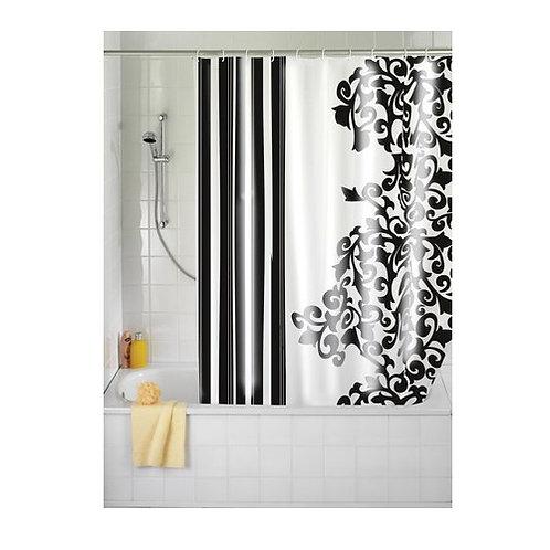 Wenko Ornamento Nero Завеса за баня