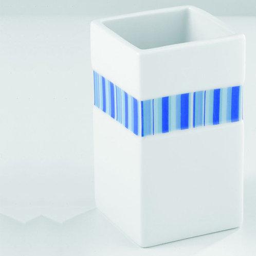 Wenko Поставка за четки за зъби със синя лента
