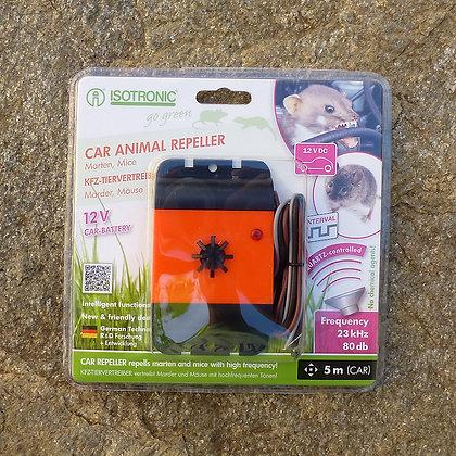 Уред с ултразвук срещу мишки, белки и златки за защита на автомобил