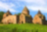 Монастырский комплекс Гошаванк в Армении