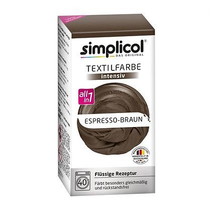 Течна интензивна текстилна боя, еспресо кафява