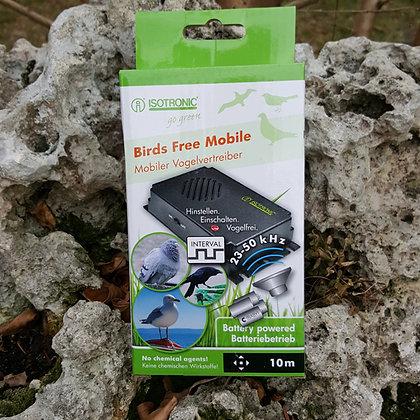 Електронен мобилен уред с ултразвук против птици