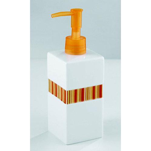 Wenko Дозатор за течен сапун с оранжева лента