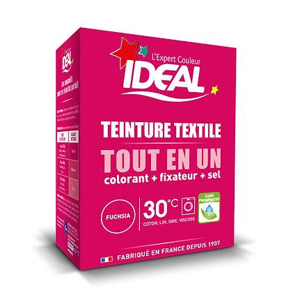 IDEAL MINI «Все в Одном» для окрашивания одежды и тканей, фуксия, 230 г.