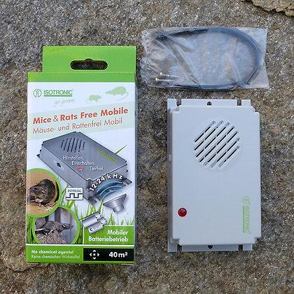 Мобилен ултразвуков уред срещу мишки и плъхове