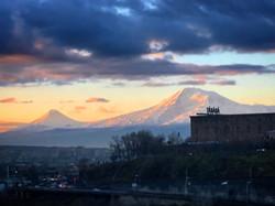 Вид на гору Арарат