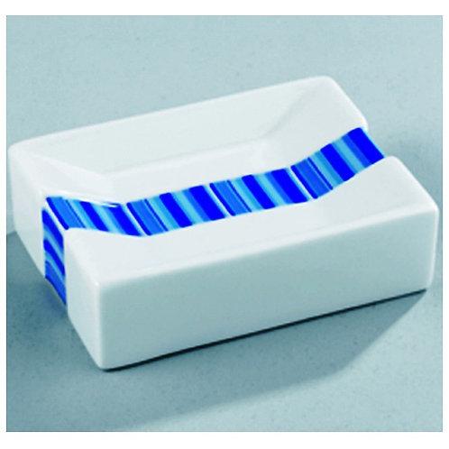 Wenko Поставка за сапун със синя лента