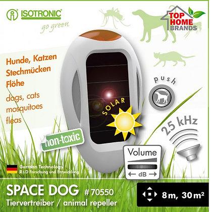 Соларен уред против кучета, котки, комари и бълхи