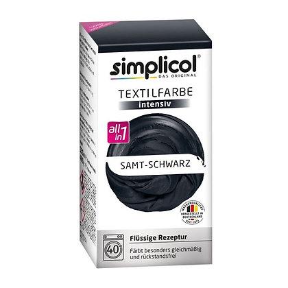 Течна интензивна текстилна боя, черна