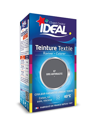 IDEAL MINI Краска для одежды, двухкомпонентная, серый антрацит