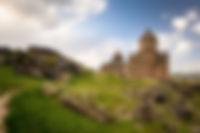 Монастырь Санаин (Санахин) в Армении