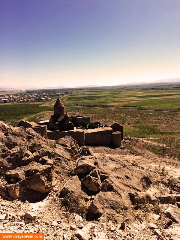 Монастырь-крепость Хор-Вирап