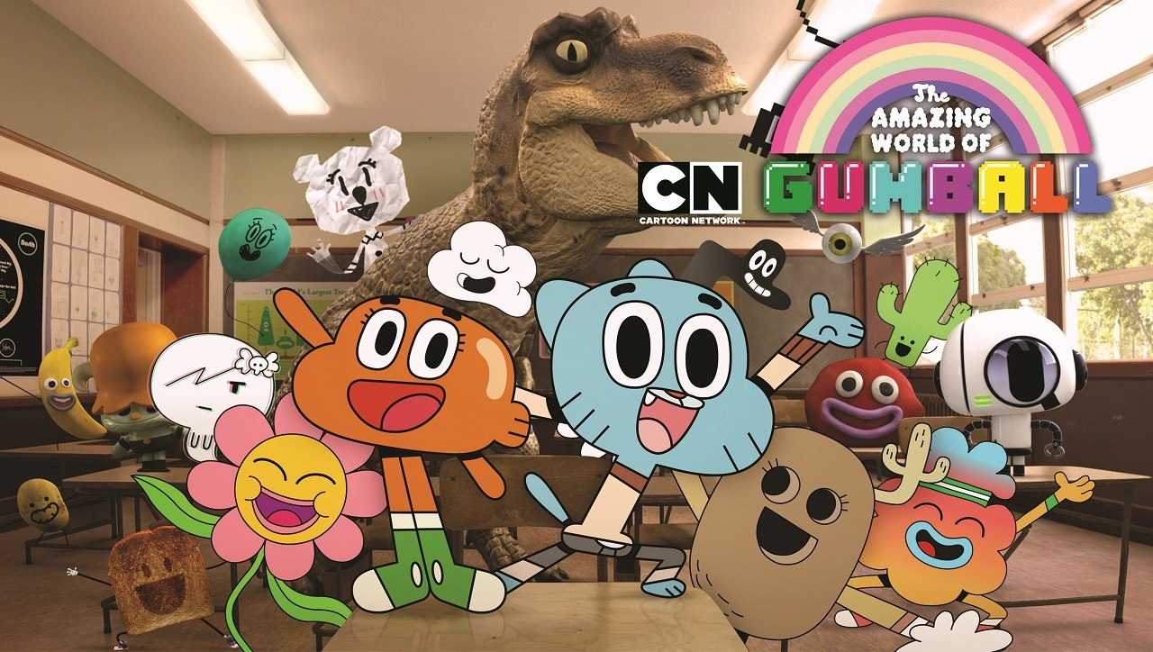 Amazing World of Gumball - Co-comp