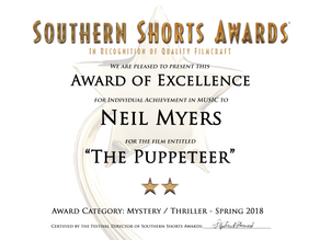 Music Award for the Puppeteer