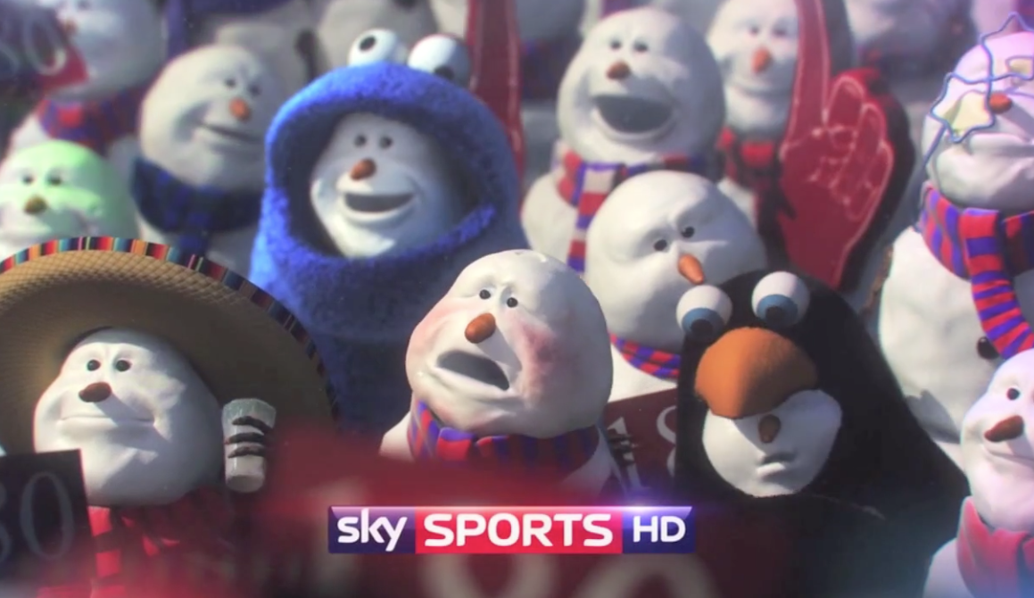 Sky Sports Christmas Idents