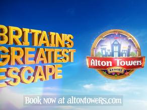 Alton Towers - Britain's Greatest Escape campaign.