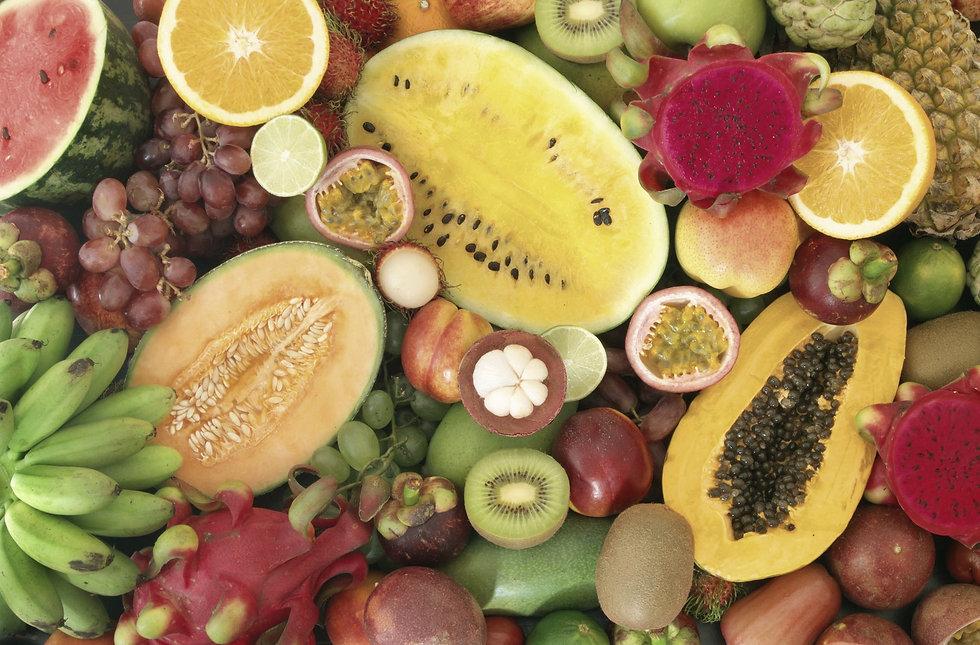 Forest garden fruits