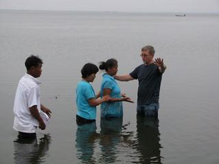 Mae Som is baptized