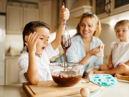 Getting children active in the kitchen