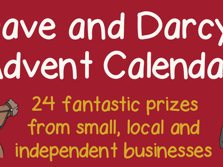 Dave and Darcy's Advent Calendar of Giveaways!