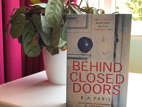 Book review: Behind Closed Doors by B.A. Paris