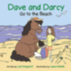 Children's picture book Dave and Darcy Go to the Beach by Lois Kingscott Author