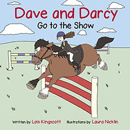 Dave and Darcy Go to the Show Front Cover by Lois Kingscott