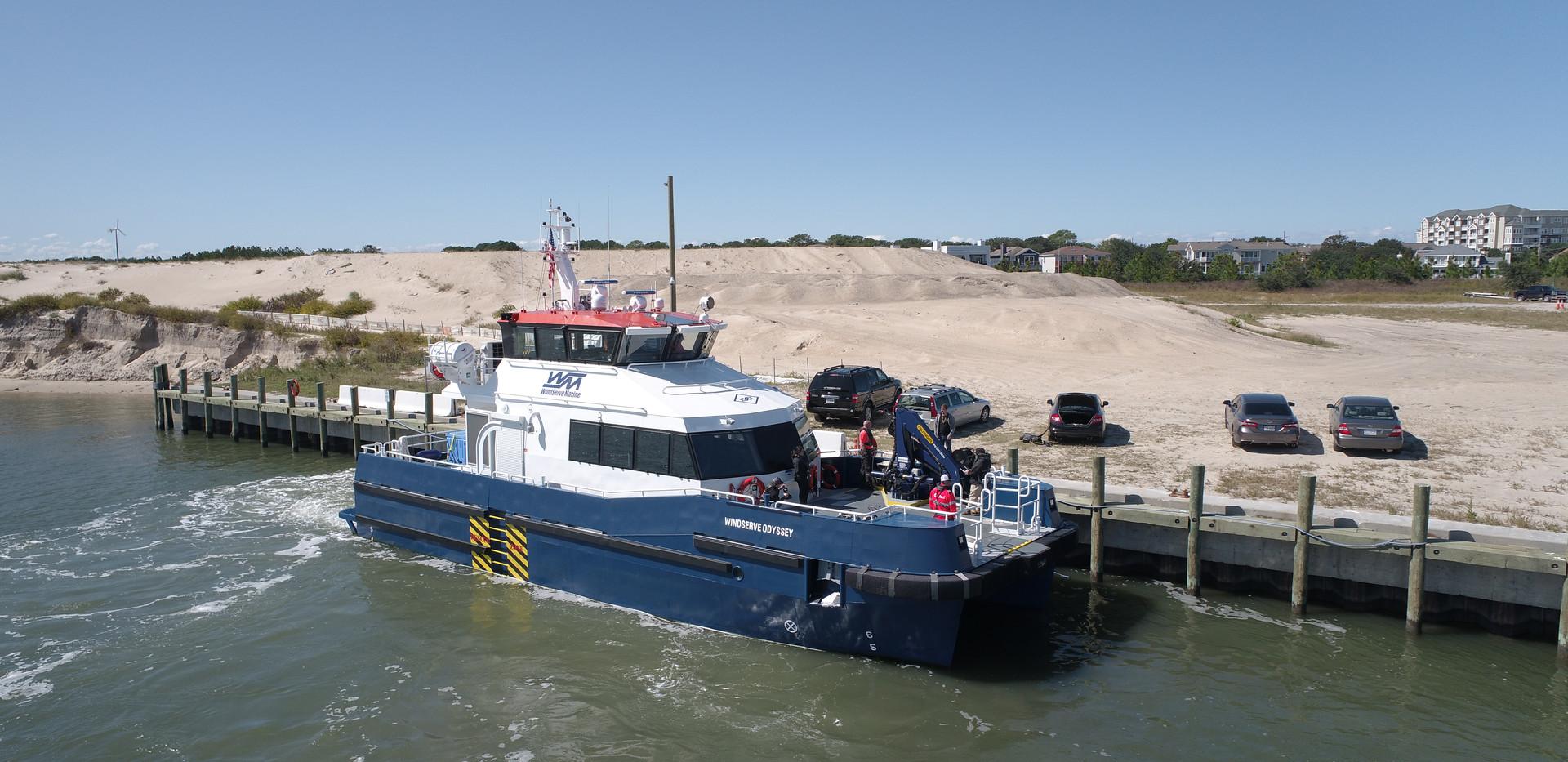 ODYSSEY in Port