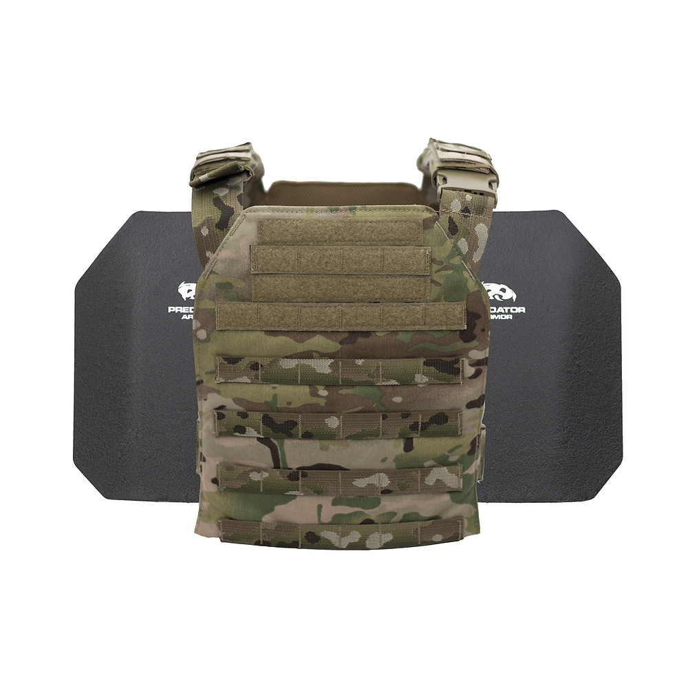 Complete Body Armor (Body Armor Plate Carrier and Steel Plates)